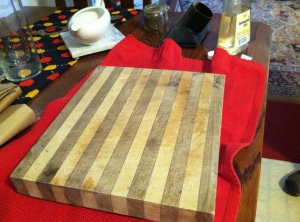 Dry, Splotchy Board