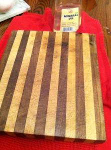 Oiled Cutting Board